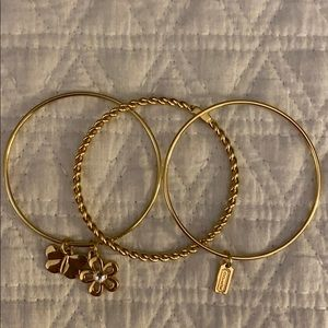 Coach Bangle Bracelet Set